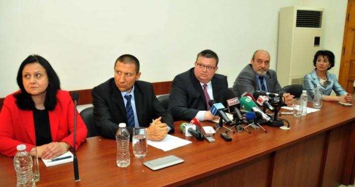 Снимка БулфотоЗам.-главният прокурор Мария Шишкова е депозирала оставката си.Тя е