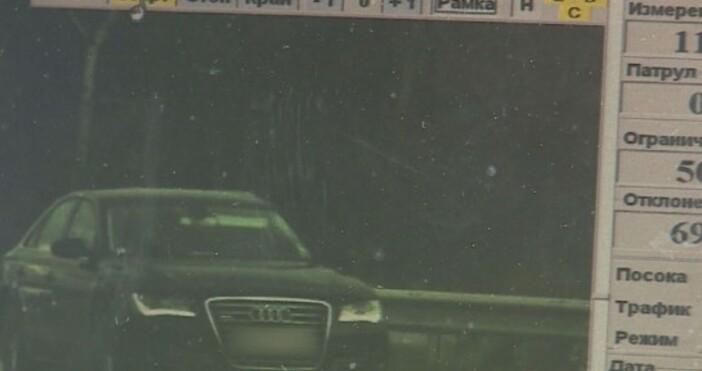 """Само през ноември камерите на """"Пътна полиция"""" са заснели 75"""