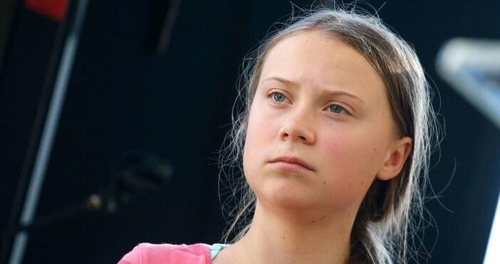 Думите й бяха изтълкувани като призив към насилиеМладата климатична активистка