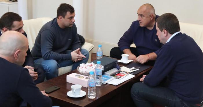 Снимка: Министерски съветМинистър-председателятБойко Борисовсе срещна в Министерския съвет с представители