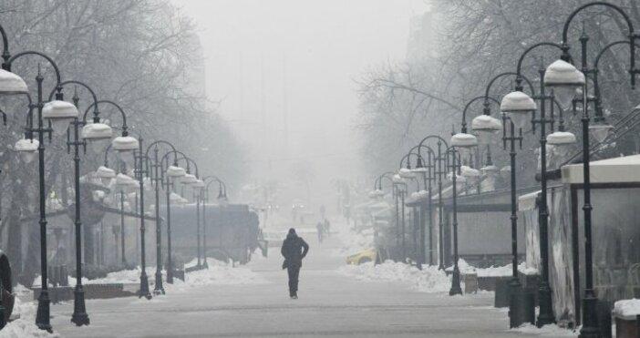 Снимка БулфотоНай-ниските температури през януари у нас ще бъдат между
