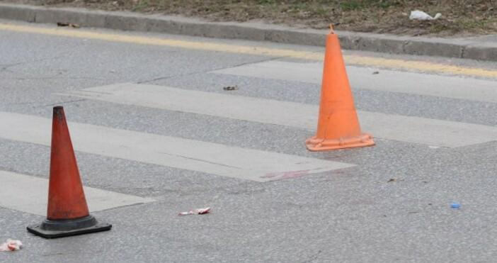Снимка Булфото62-годишна жена е била блъсната от лек автомобил на