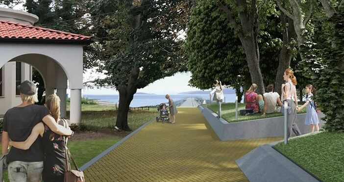 Община Царево току-що показа атрактивните визуализации на проекта за площад