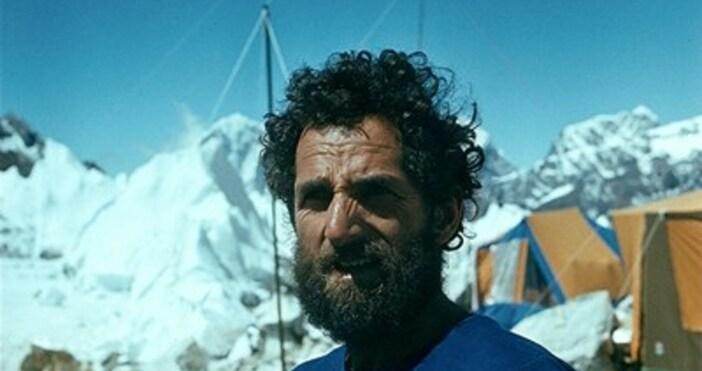 Снимка: bfka.orgЕдин от най-известните ни алпинисти Димитър Бърдарев почина внезапно,