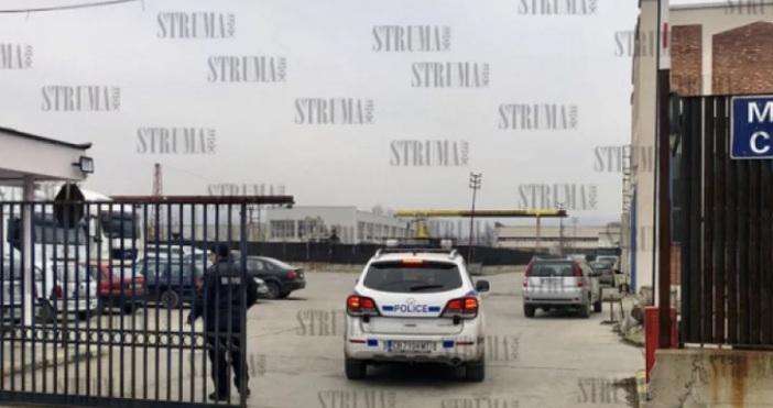 Снимкаstruma.comСериозен е ударът, извършен тази нощ в Митницата в Благоевград.