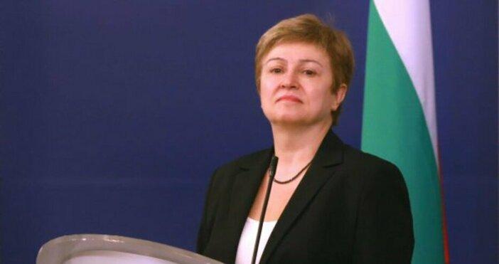Ръководителят на Международния валутен фонд Кристалина Георгиева предсказа нова Велика