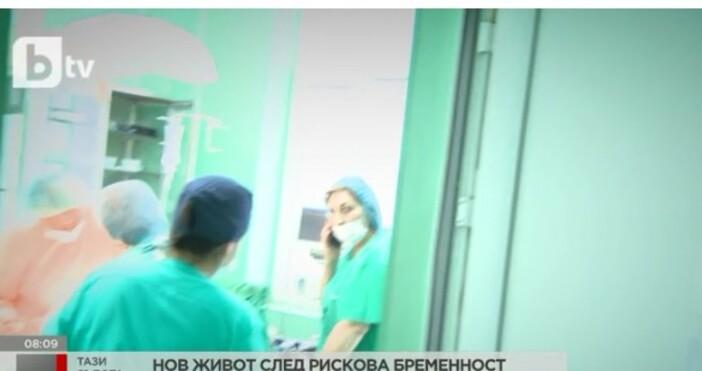 Благодарение на лекарския екип, грижил се замайкаму, Димитър е жив