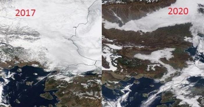 Нека да направим сравнение на зимните дни през изминатите години