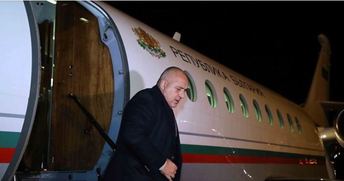 Снимки: фейсбукПремиерът Бойко Борисов пристигна в Швейцария, където ще се
