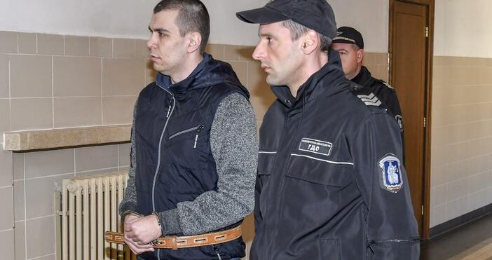 Снимка:БулфотоЗапочна делото срещу 27-годишния Викторио Александров, обвинен за убийството на