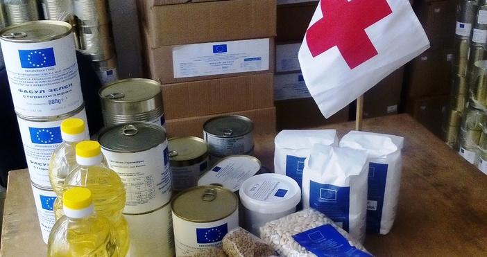 Продължава раздаването на хранителни продукти на уязвими български граждани по
