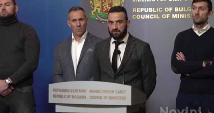 Снимка:Novini.bgПрисъстващите на срещата държавни мъже – премиерът, финансовият министър и