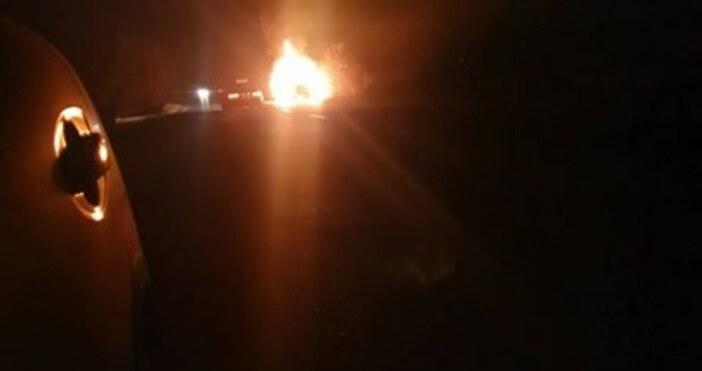 trafficnews.bgАвтомобил пламна на един от изходите на Пловдив, сигнализира читател