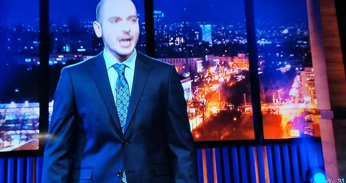 Водещият на новото вечерно шоу на bTV Николаос Цитиридис започна
