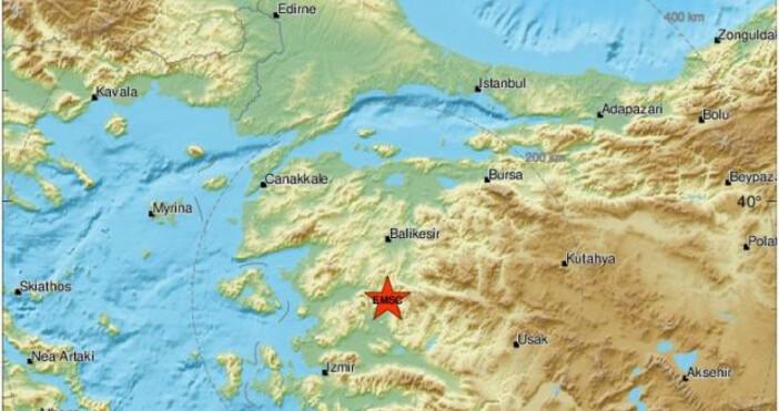 Леко земетресение люшна Хасково, то бе усетено по високите етажи