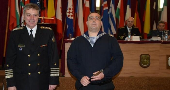 Снимка varna24.bgНа 28 януари 2020 г. в Щаба на ВМС,