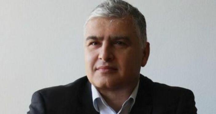 Председателят на Комисията по хазарта Александър Георгиев е задържан за