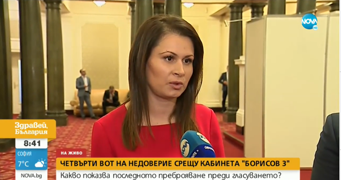 Редактор:Недко Петровe-mail:nedko_petrov_petel.bg@abv.bgКадър: Нова ТвЧетвъртият вот на недоверие, който БСП внесе