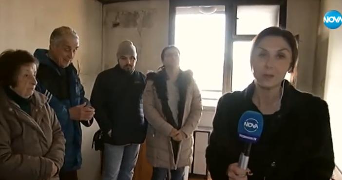 Кадър Нова твБлизо 20 дни след адския взрив в жилищен