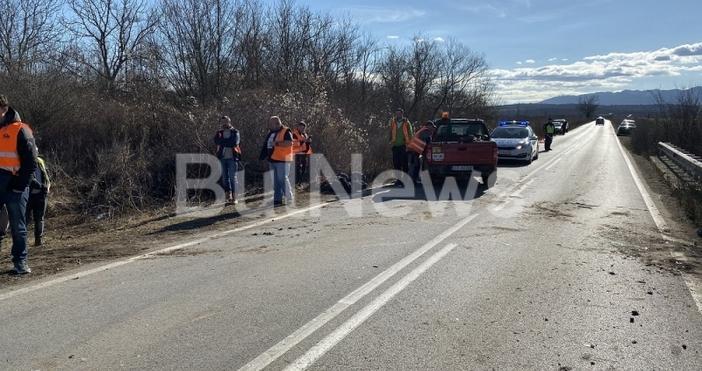 Снимка БулнюзТежка катастрофа е станала преди минути между Враца и