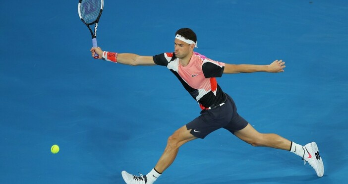 Григор Димитров загуби три места в световната ранглиста на ATP.