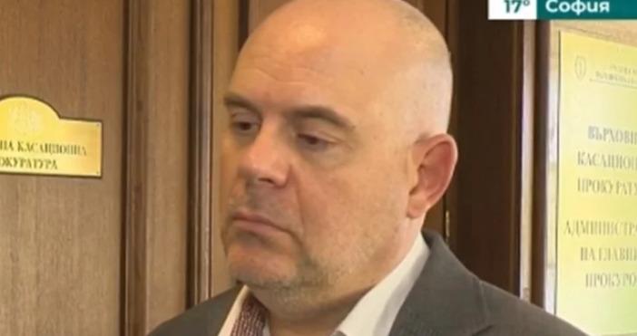 Главният прокурор Иван Гешев е на посещение в Брюксел. Там