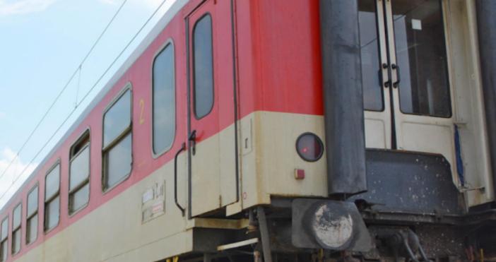 Снимка БулфотоДвижението на влаковете в страната се осъществява нормално без