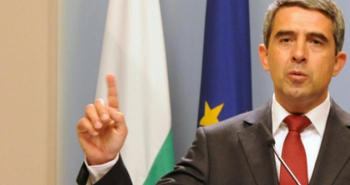 Снимка: БулфотоБившият президент на България Росен Плевнелиев намекна, чеРумен Радевобслужва