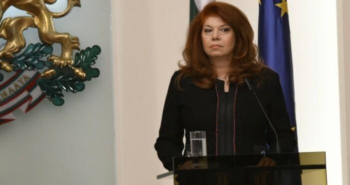 Вицепрезидентът Илияна Йотова коментира отказа на ГЕРБ да инициира процедура