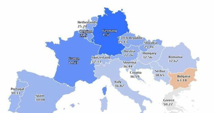 Борсови цени на електроенергията с доставка 9 февруари в Европа[www.energylive.cloud]Въпреки