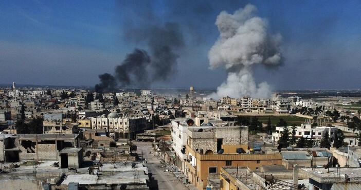 Турски военни специалисти в сирийската провинция Идлиб са използвали ракети,