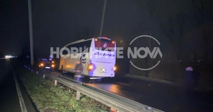 Нова твКатастрофа затвори пътя Бургас - Созопол, има двама загиналиПри