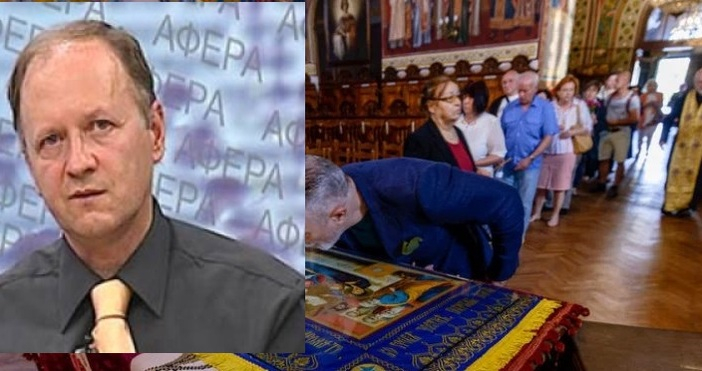 Журналистът Григор Лилов реагира гневно спрямо факта, че Българска православна
