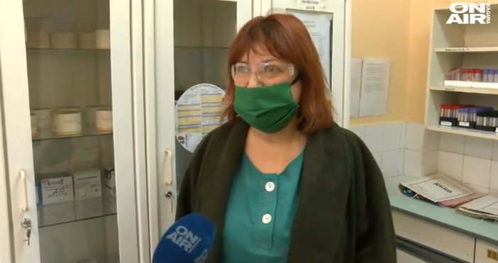 Кадър:Bulgaria ON AIRХристина Атанасова е едно от лицата на протеста