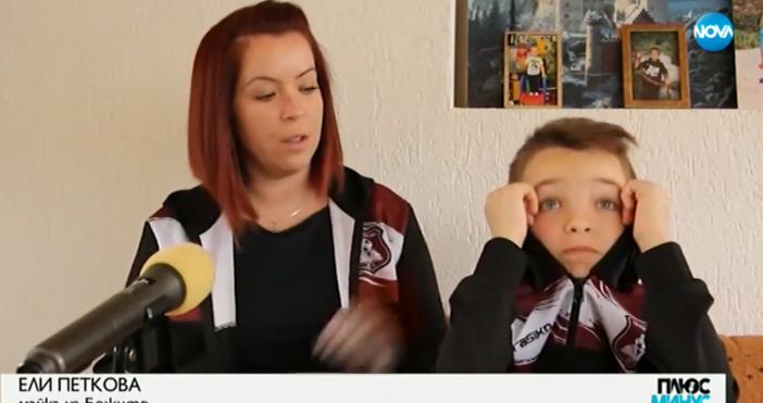 Кадър и видео:NOVA10-годишният Божидар от Добрич дари спестяванията си от