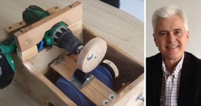 Бургазлия изобрети апарат за обдишване в домашни условия. Той е