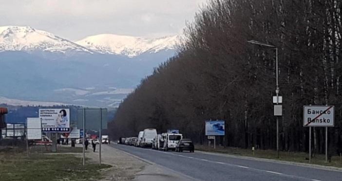 Общинският кризисен щаб в Банско съобщи, че някои от редовните