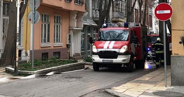 """Жена е пострадала при вчерашния пожар на ул. """"Охрид"""" във"""