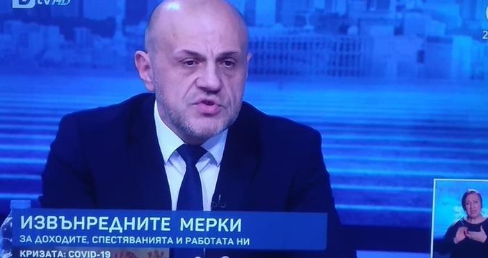 Томислав Дончев смята, че с мерките, които държавата е взела,