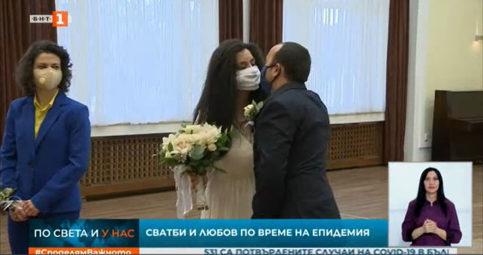 Извънредните мерки заради коронавируса не спряха сватбите в София. Само