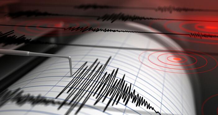 Леко земетресениеот 2,8 по скалата на Рихтер е имало на