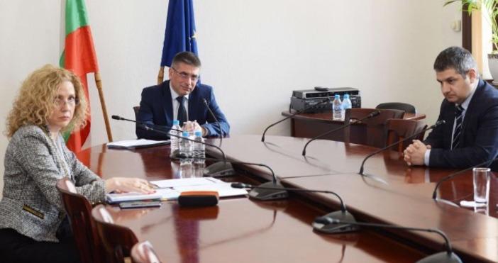 Снимка: Пресцентър МСМинистърът на Министърът на правосъдието Данаил Кирилов участва