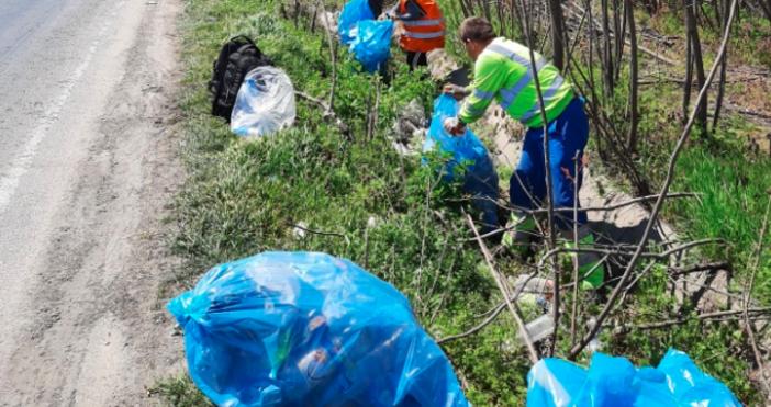 В 5-километровия участък на пътя Русе-Силистра са почистени и извозени