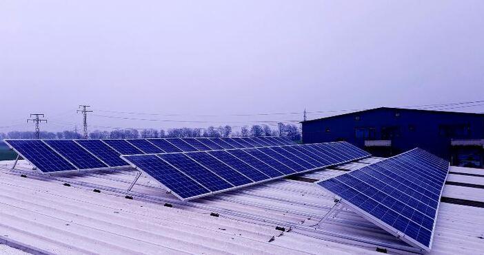Нов соларен парк изграден от ЕНЕРГО-ПРО Енергийни услуги отскоро заработи