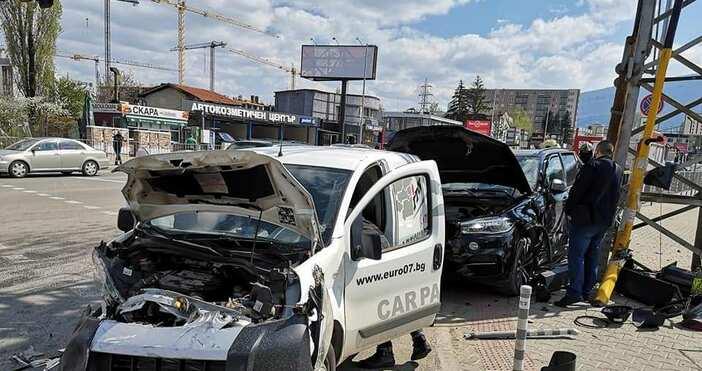 Снимка: Alex Ivanov, Катастрофи в СофияНова тежка катастрофае станала в