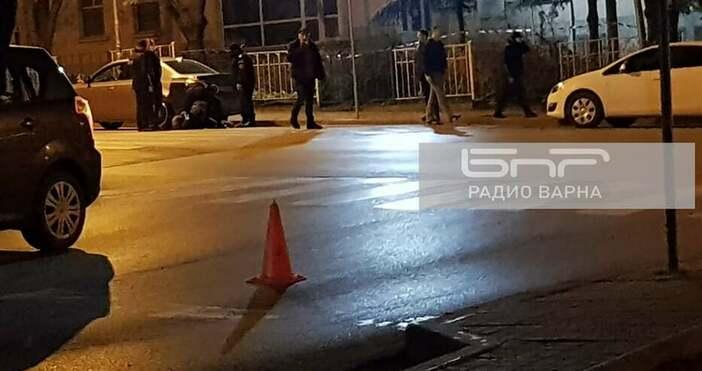 Снимка БНРМъж е бил прострелян снощи във Варнаот човек, с