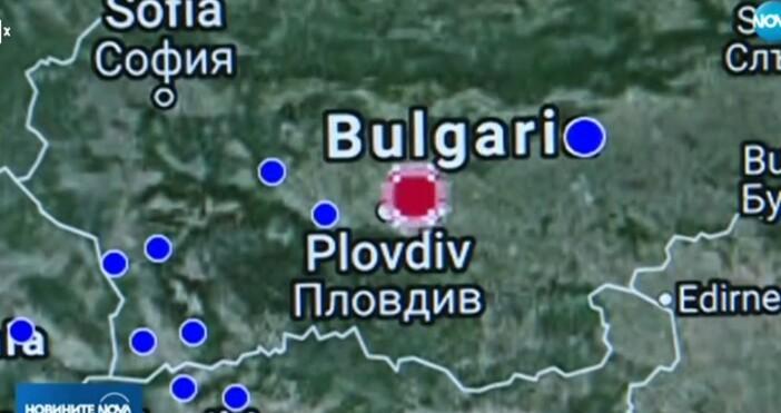 Нова твДнес към 14:00 ч. в района на Раковски беше