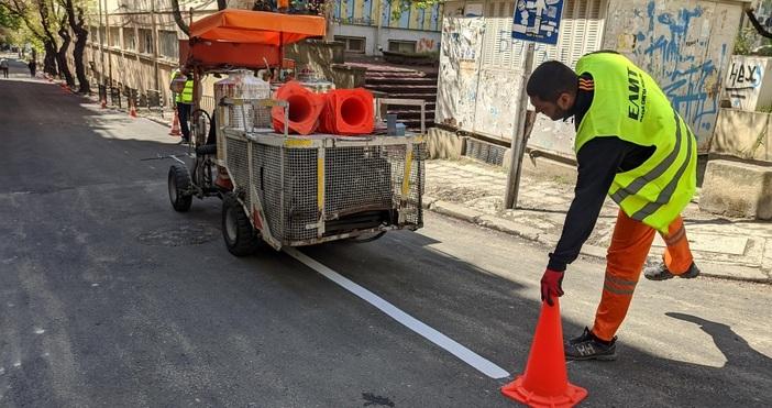 снимки: БулфотоПо молба на Община Варнаварненци опразниха няколко улици в