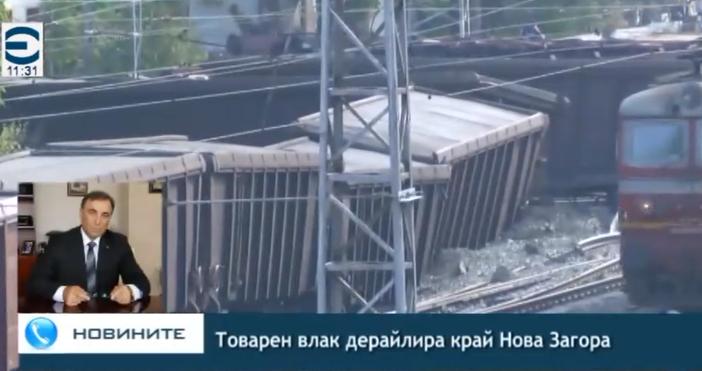 Редактор:Недко Петровe-mail:nedko_petrov_petel.bg@abv.bgСлава богу, няма пострадили. Влакът не е превозвал опасни