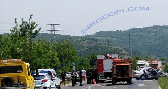 """Снимка:24rodopi.comПочина един от пострадалите в тежкатакатастрофа на пътя за """"Маказа"""","""